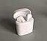 Беспроводные Bluetooth наушники HBQ I7S TWS Stereo белые с боксом, фото 3