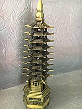 Фигурки из полимеров под бронзу  пагода 9 ярусов