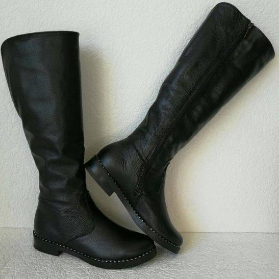 Зимові жіночі шкіряні чоботи Limoda до коліна 2ac606a863773