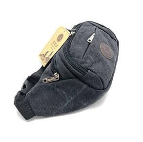 Джинсовая сумка на пояс - бананка(f0029/1), фото 2