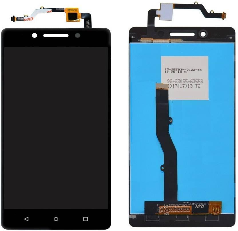 Дисплей для Lenovo K8 Note с тачскрином черный, Venom Black Оригинал