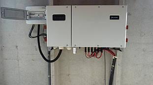 Сетевой инвертор для преобразования постоянного тока в переменный.