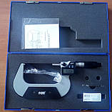Мікрометр цифровий KM-2133-100 / 0.001 (75-100) в водозащищенном металевому корпусі IP 65, фото 5