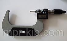 Мікрометр цифровий KM-2133-100 / 0.001 (75-100) в водозащищенном металевому корпусі IP 65