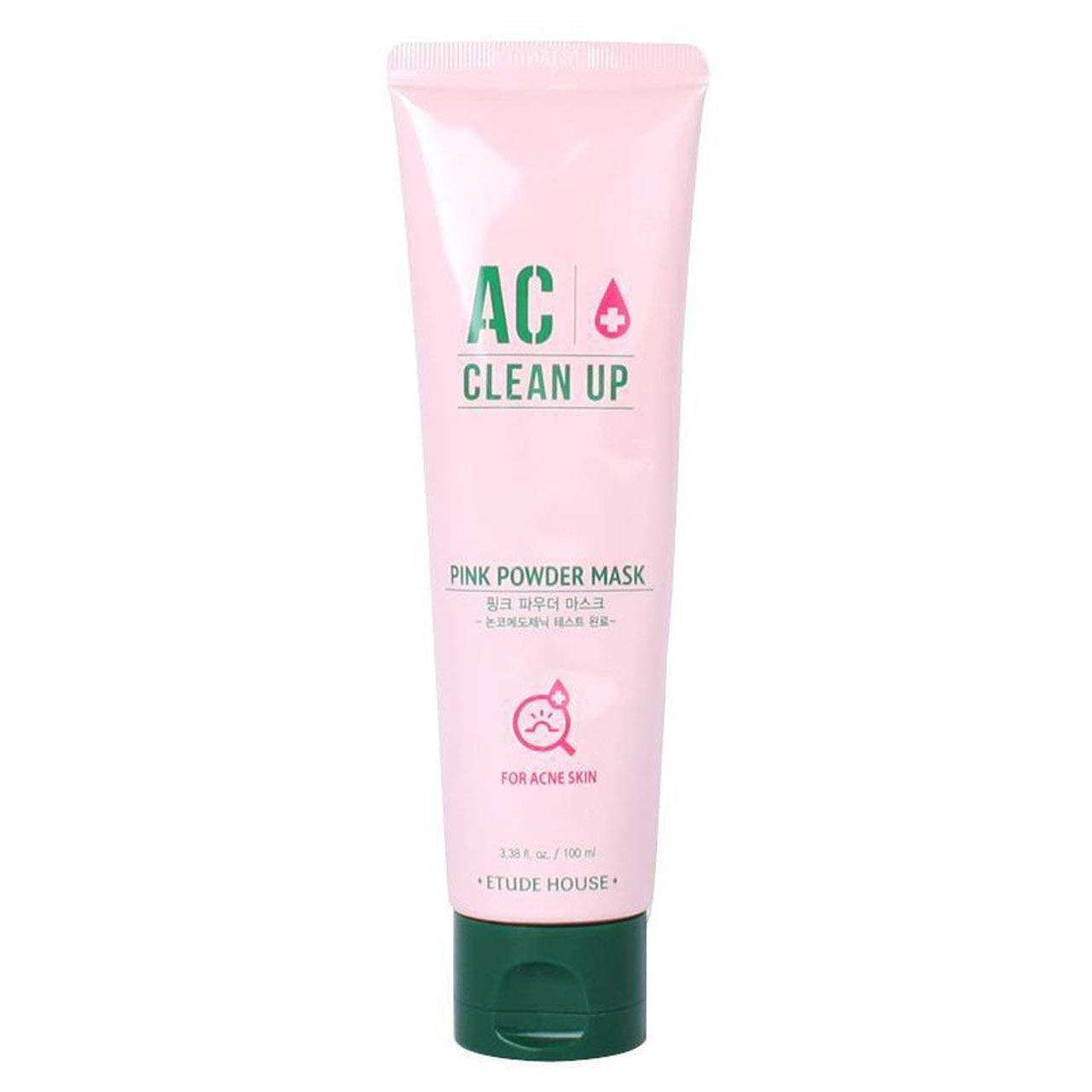 Маска с каламином для лечения акне AC Clean Up Pink Powder Mask 100 ml