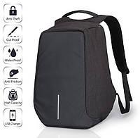 Рюкзак Bobby bag черный, серый
