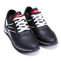 Чоловічі шкіряні зимові кросівки Anser Reebok NS Black. Розмір 41 89595c9e37d4a