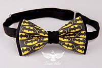 """Галстук - бабочка """"Бэтмен"""", фото 1"""