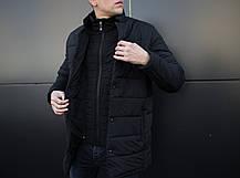 "Мужская зимняя куртка Pobedov ""Кorol' vechera"" Black, фото 3"