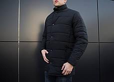 "Мужская зимняя куртка Pobedov ""Кorol' vechera"" Black, фото 2"
