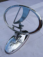 Эмблема на капот ВАЗ LADA ЛАДА (прицел)