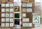 Серія вимикачів і розеток «Tesla»