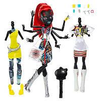 Monster High Монстр Хай Кукла Вайдона Спайдер Вебарелла Mattel серия Я люблю моду 26см оригинал KBB