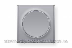 Выключатель одноклавишный 1Е31301302 Цвет серый Florence