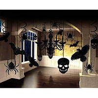 Подарок на Хэллоуин Комплект декораций люстра (блеск) halloween Пиньята День Мертвых
