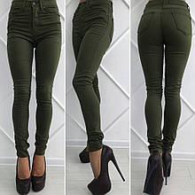 Жіночі джинси із завищеною талією Туреччина (р. 42,44,46,48,50)