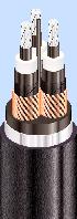 Трехжильные силовые кабели в изоляции из сшитого полиэтилена (XLPE)
