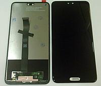 Оригинальный дисплей (модуль) + тачскрин (сенсор) для Huawei P20 (черный цвет)