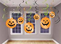 Подарок на Хэллоуин Спираль фольга тыквы 12 шт halloween Пиньята День Мертвых