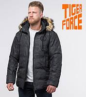 Tiger Force 53759 | Куртка зимняя на мужчину черная, фото 1