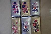"""Чехол змейка """"вышивка"""",цветная ткань ."""