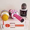 Беспроводной микрофон караоке bluetooth.FM/ WS 858, фото 4
