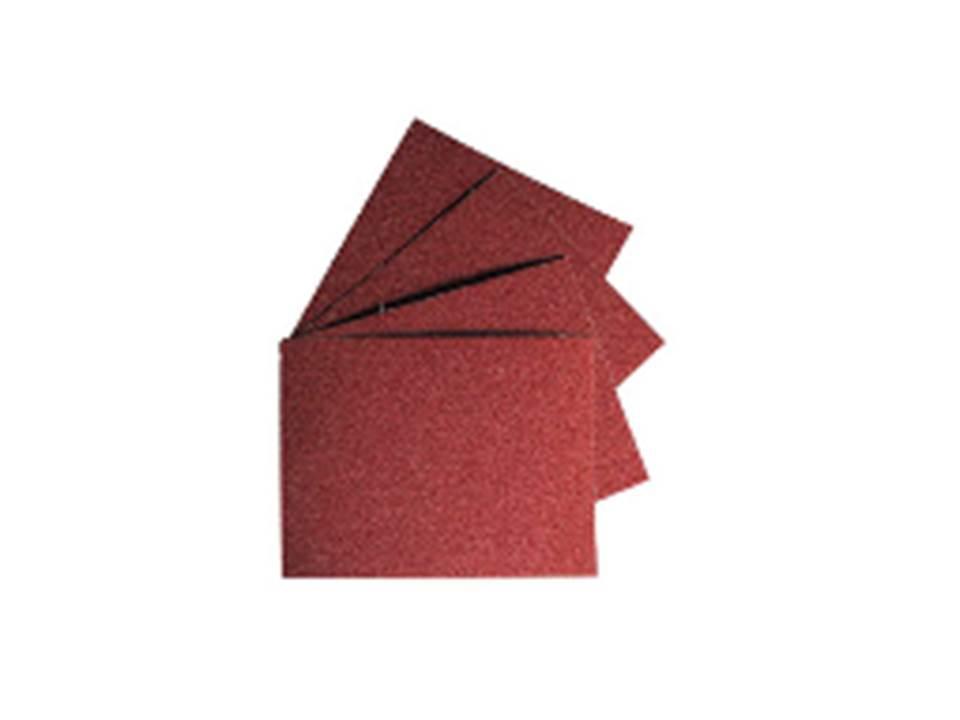 Набір вологостійкої шліфувальної шкурки на тканинній основі 10шт, K60