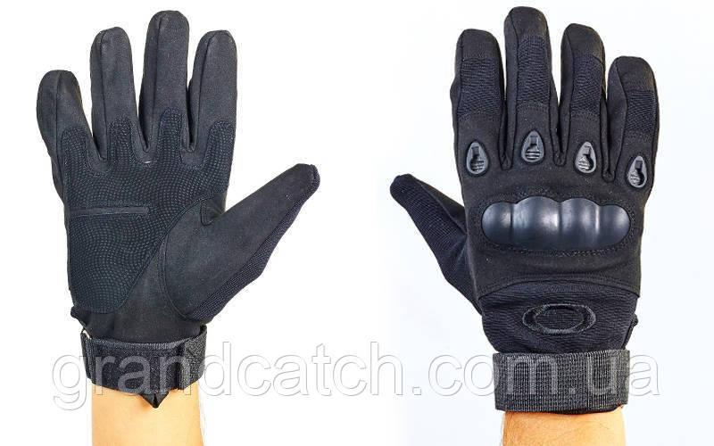 Перчатки тактические OAKLEY (черные)