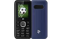 """Мобильный телефон 2E S180 DS Blue синий (2SIM) 1,77"""" оригинал Гарантия!"""