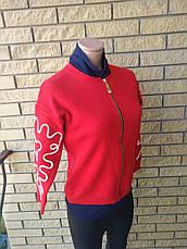 Кофта, свитер женский плотный на молнии   ELEGANCE, Турция, фото 3