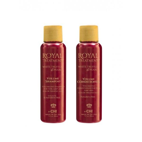 """Дорожный набор """"Супер Объем"""" CHI Royal Volume Shampoo, Conditioner"""