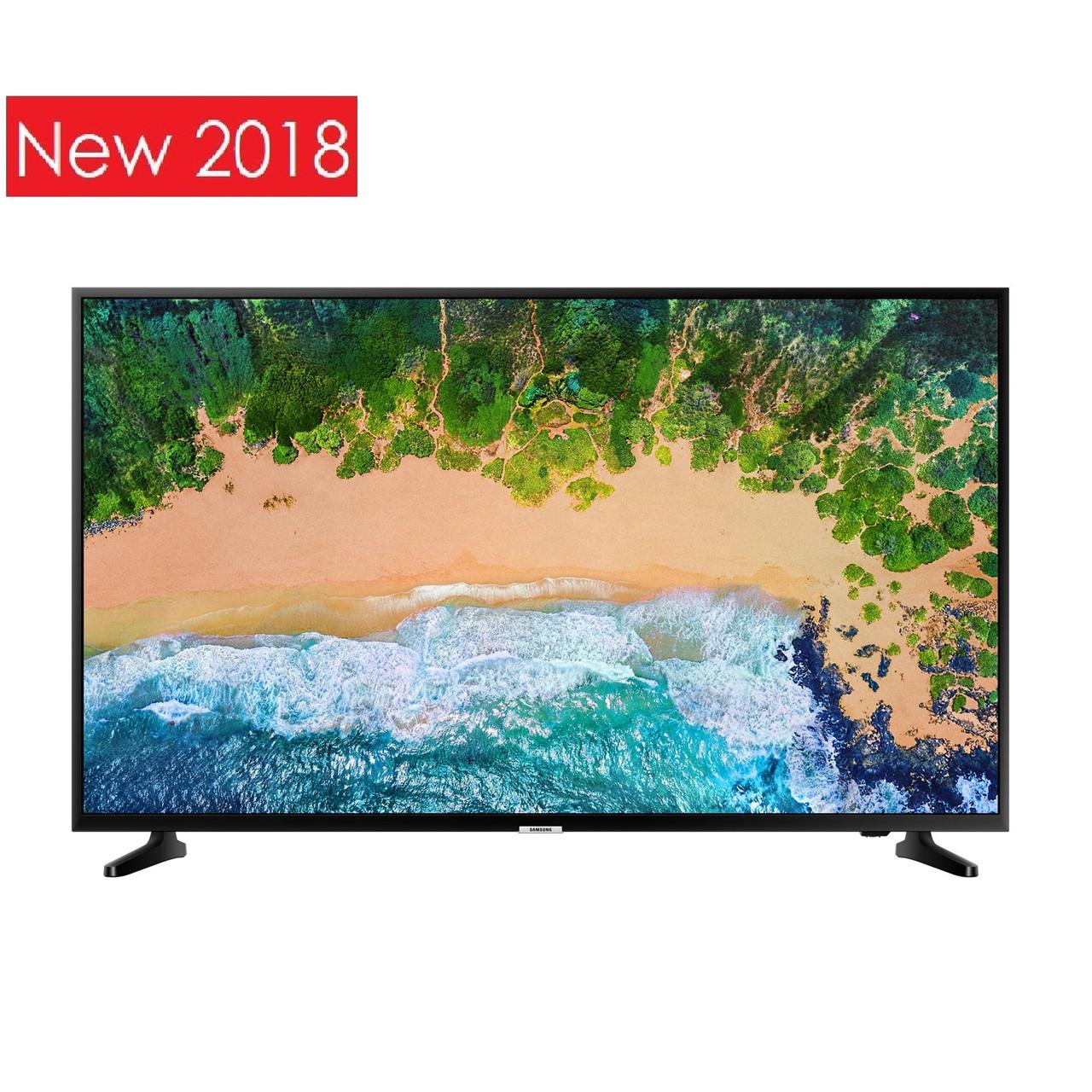 Телевизор Samsung UE50NU7092 (PQI 1300Гц, 4K Smart, UHD Engine, HLG, HDR10+, Dolby Digital+ 20Вт, DVB-C/T2/S2)