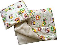 """Детский комплект для сна """"Одеяло с подушкой на овчине"""""""