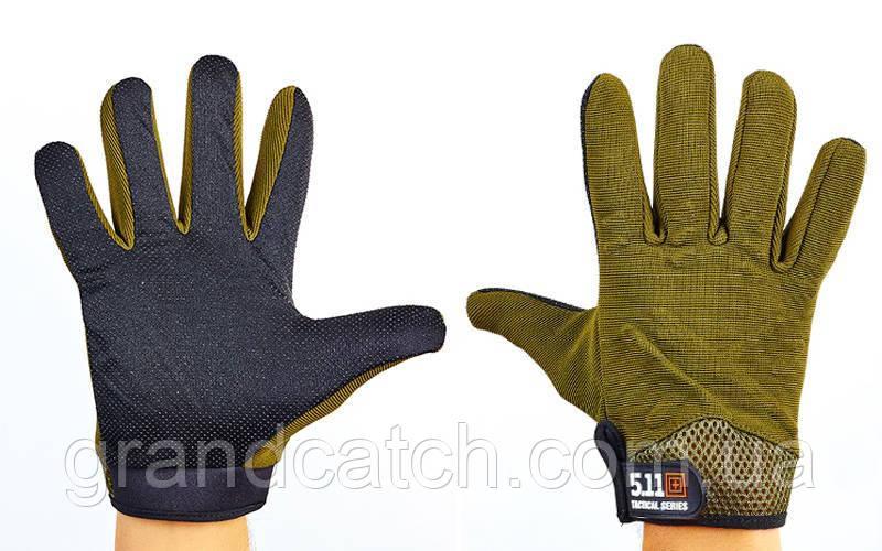 Перчатки тактические 5.11 (олива)