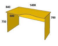 Офисная мебель серии Бюджет Стол письменный БЮ 113