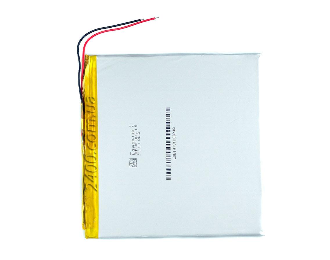 Аккумулятор 4300мАч 30100102мм 3,7в универсальный для планшетов Bravis, Nomi, ImPAD, Prestigio 4300mAh