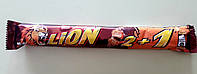Шоколадний батончик Lion 2+1 карамель 90 г