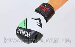 Перчатки боксерские кожаные на липучке EVERLAST MA-6748-G, фото 2
