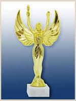 """Статуэтка """"Ника с факелом"""" отличная наградная статуэтка , которая очень популярна среди покуп"""