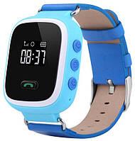 Дитячі розумні смарт годинник Smart Watch Q60 з GPS сині, фото 1