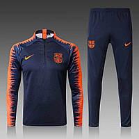 Спортивный костюм Барселона (Тренировочный клубный костюм FС Barcelona )+Горловик в подарок!