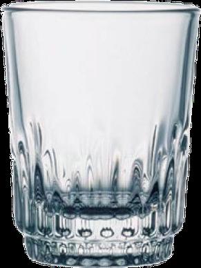 Стопка стеклянная с граненым дном, фото 2