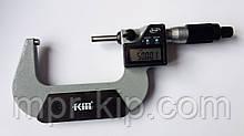 Мікрометр цифровий KM-2133-75 / 0.001 (50-75 мм) у водозащищенном металевому корпусі IP 65