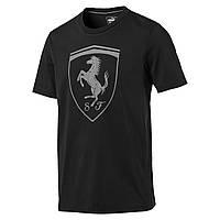 be3fc6f93c38 Мужская футболка Puma Ferrari BIG SHIELD TEE (Артикул  57346701)
