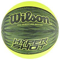 М'яч баскетбольний Wilson Hyper Shot р. 6 (WTB0951XB), фото 1