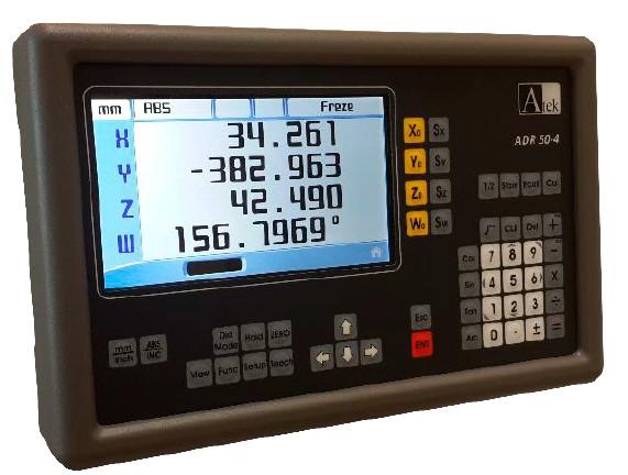 Устройство цифровой индикации УЦИ серии ADR 50 с цветным LCD дисплеем (на 2,3 или 4 оси)