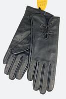 Женские сенсорные перчатки Shust Gloves S кожаные (704-S)