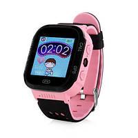 Дитячі розумні смарт годинник Smart Baby Watch Q529 рожеві Smart Watch, фото 1