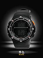 Мужские военные часы Мilitary Shock спорт Черные