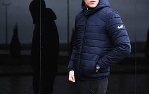 "Зимняя мужская куртка Pobedov Winter Jacket ""Rise"" Navy, фото 2"